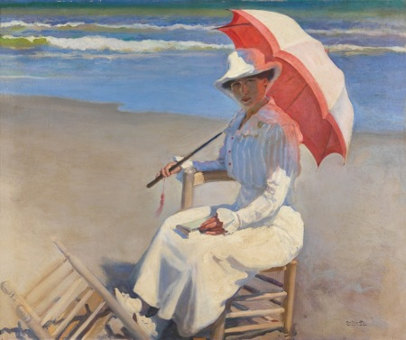 cecilio-pla-gallardo-mujer-en-la-playa-1910