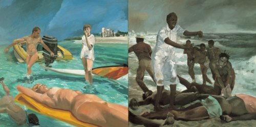 eric-fischl-a-vist-to-a-vist-from-the-island-1983