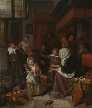 jan-steen-la-fiesta-de-san-nicolas-1668
