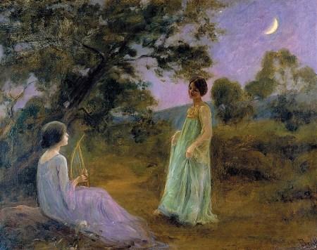 joan-brull-paisaje-nocturno-con-dos-jovenes