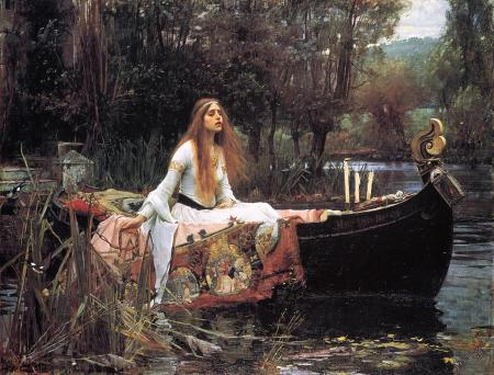 john-william-waterhouse-la-dama-de-shalott-1888