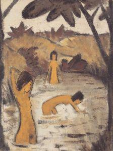 otto-mueller-drei-badende-im-teich-1912