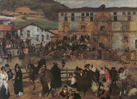 zuloaga-corrida-de-toros-en-eibar-1899