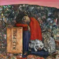 la Navidad de Juanito Laguna (Antonio Berni, 1962)