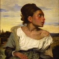joven huérfana en el cementerio (Delacroix, 1824)