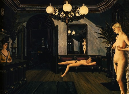 paul-delvaux-night-train-1947