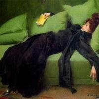 joven decadente (Ramón Casas, 1899)