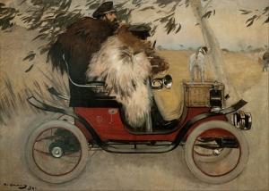 ramon-casas-ramon-casas-y-pere-romeu-automovil-1899