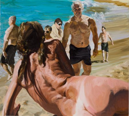 eric-fischl-scenes-from-late-paradise-the-welcome-2007