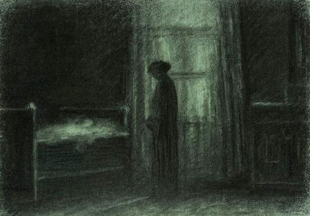 jakub-schikaneder-au-pied-du-lit-1919