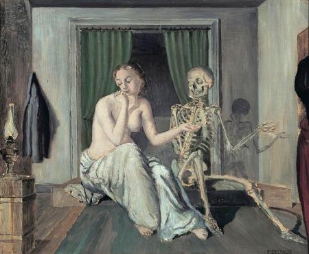 paul-delvaux-la-conversacion-1944