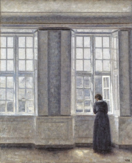vilhelm-hammershoi-the-tall-windows-1913