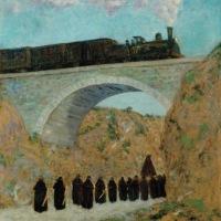 viernes santo en Castilla (Darío de Regoyos, 1904)