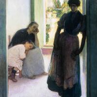 mal de amores (Julio Romero de Torres, 1905)