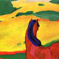 el caballo azul (Franz Marc, 1911)