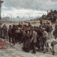 la huelga (Robert Koehler, 1886)